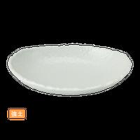 (強)NRホワイト 6.5楕円ボ-ル    く09-012-07 寸法:20×13×4H㎝ 320g