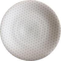サーフェス27cmディナー(灰麻格子)    501-257AC402  寸法:D27.8×H2.2(cm)