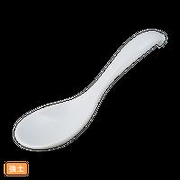 (強)白 スプーン    く09-139-07 寸法:14×4.5×3H㎝ 20g
