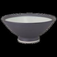 黒マット 大平    く09-113-09 寸法:13.5φ×5.8H㎝ 180g