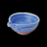 青マット 3.0片口丼    く09-016-33 寸法:10.5×9×5H㎝  140g