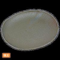 (強)NRブラック 7.5丸皿    く09-070-01 寸法:22×20×2.5H㎝ 580g