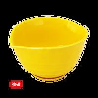 (強)黄釉 すげ傘小鉢    く09-020-12 寸法:10×9×5.5H㎝ 140g