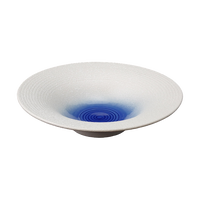 白樺湖 反鉢(大)    く09-002-29 寸法:18.5φ×4.5H㎝ 300g