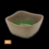 (強)伊賀ヒスイ 4.3角小鉢    く09-017-17 寸法:11×11×5.5H㎝ 240g