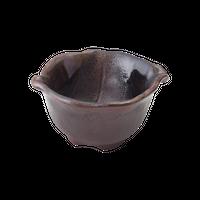 備前灰釉 葉形小鉢(小)    く09-022-46 寸法:10.5×9×5H㎝ 150g