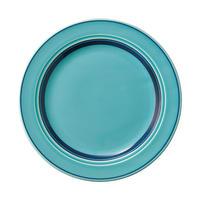 カントリーサイド オーシャンブルー 20cmケーキ皿    寸法:19.8φ×2H㎝