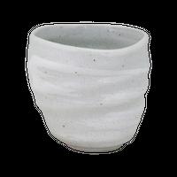 白河 酎杯コップ(特大)    く09-126-12 寸法:9.5×9×9H㎝ 360㏄ 250g