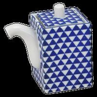 うろこ紋 角正油    く09-142-16 寸法:7.8×4.8×8H㎝ 110cc 100g