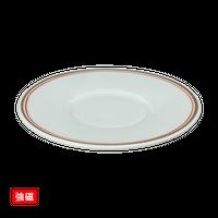 (強)グリ-ン朱金線 小蓋物 ソーサー    く09-036-20 寸法:12φ×2H㎝ 170g