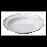 ラフィネ スモークホワイト 25.5cmパスタボウル    496-15910010 寸法:25.5φ×4.4H㎝