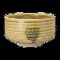 黄瀬茶碗(忠作)(箱無)    く09-152-02 寸法:11.8φ×7.3H㎝ 320g