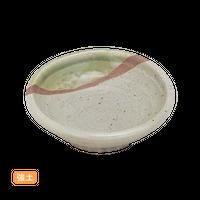 (強)緑彩半掛 2.8丸浅鉢    く09-088-16 寸法:8φ×3H㎝ 80g