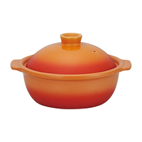 ポトフ 7号鍋 ベイクオレンジ    496-19851007 寸法:27.1×23×14.5H㎝ 1,700cc