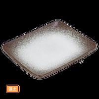 (強)伊賀白吹 5.0撫角皿    く09-082-19 寸法:14.5×12×1.5H㎝ 250g