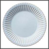 ストーリア シャビーブルー 24cmプレート    496-16780004 寸法:24φ×2.8H㎝