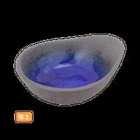 (強)伊賀るり釉 長呑水    く09-095-30 寸法:13×10.5×4H㎝ 180g