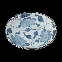 牡丹唐草 10.0皿    く09-062-06 寸法:31.5φ×5.8H㎝ 1400g