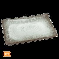 (強)伊賀白吹 7.0長角皿    く09-052-03 寸法:20.5×13×1.5H㎝ 400g