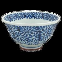 蛸唐草 ソギ茶碗    く09-114-06 寸法:φ16.5×8H㎝ 170g