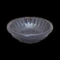 鉄結晶削ぎ8㎝丸千代口    く09-088-05 寸法:8.2φ×2.5H㎝ 70g