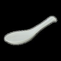 白 掛さじ(並)    く09-139-16 寸法:14.5×4×5.5H㎝ 30g