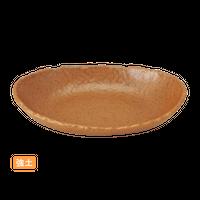(強)NRチョコ 6.5楕円ボ-ル    く09-012-13 寸法:20×13×4H㎝ 320g