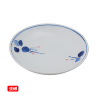 (強)一珍万両 3.5丸皿    く09-085-15 寸法:10.5φ×2.5H㎝ 100g