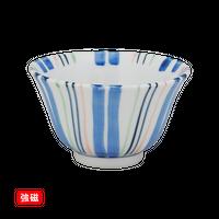 (強)色十草 反千茶    く09-118-09 寸法:9.5φ×5.5H㎝ 140g