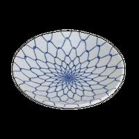 網目 4.0丸皿    く09-077-19 寸法:13.5φ×2.5H㎝ 140g