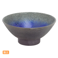 (強)伊賀るり釉 毛料(大茶身)    く09-110-26 寸法:15.5φ×7H㎝ 350g
