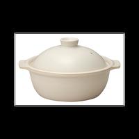 ポトフ 4号鍋 ホワイト    496-19803004 寸法:18.6×16×11H㎝ 568cc