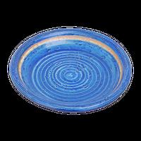 荒土ごす染 5.0丸皿    く09-072-12 寸法:15φ×2.5H㎝ 200g