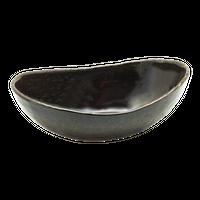 金彩天目 楕円7.0鉢    く09-010-20 寸法:22×12.5×7H㎝ 420g