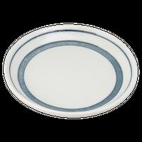 だみ筋 5.5丸皿    く09-075-07 寸法:17φ×1.5H㎝ 250g
