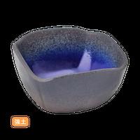 (強)伊賀るり釉 3.6角小鉢    く09-019-29 寸法:9×9×5H㎝