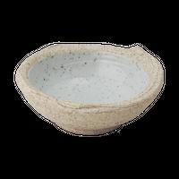 手造石焼内青磁 3.3玉渕深丸皿    く09-020-14 寸法:10φ×3.5H㎝ 170g