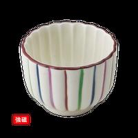 (強)錦十草 菊形丸珍味    く09-030-03 寸法:4.5φ×3.5H㎝ 40g