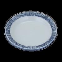 千本十草 3.8段付丸皿    く09-084-27 寸法:11.5φ×2H㎝ 120g