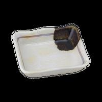 織部掛筋 長角小皿    く09-090-20 寸法:8.5×7×2.5H㎝ 80g