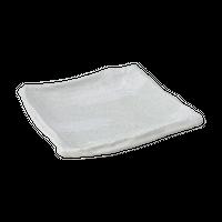 白河 匠19㎝正角皿    く09-006-39 寸法:19×18.5×4H㎝ 460g