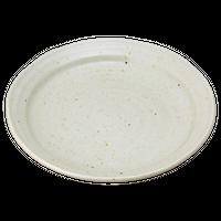 粉引釉 5.5丸皿    く09-075-11 寸法:16.5φ×2.5H㎝ 300g