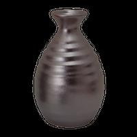 紅銀彩 徳利(小)    く09-121-42 寸法:8φ×12H㎝ 270cc 200g