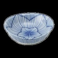十草 楕円3.0鉢    く09-026-25 寸法:9.5×9×3.5H㎝ 120g