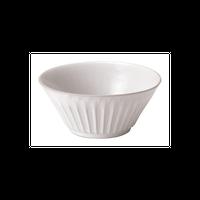 ストーリア ラスティックホワイト 12cmボウル    496-16710026 寸法:11.8φ×5.1H㎝