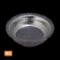 (強)黒ちらし渕銀巻 3.6反玉割    く09-092-32 寸法:11.5φ×3.5H㎝ 120g