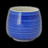 ごす巻 丸カップ(大)    く09-126-06 寸法:9Φ×8H㎝ 350㏄ 160g