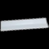 ホワイト エクセレント32㎝長皿    く09-044-13 寸法:32×8.5×1.5H㎝ 380g