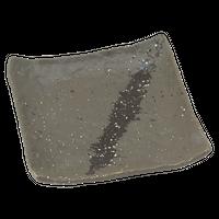 彗星 石目5.0正角皿    く09-081-36 寸法:15×3H㎝ 328g