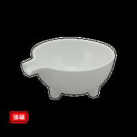 (強)白磁片口小鉢(小)    く09-024-35 寸法:9.5×8×4H㎝ 100g